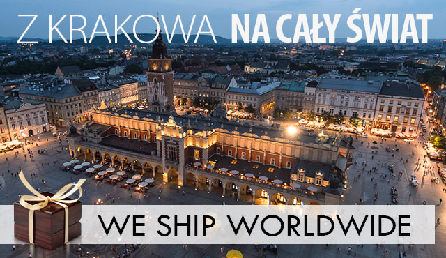 WORLDWIDE SHIPPING - FROM KRAKOW WITH LOVE. KRK OMG :)