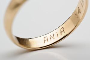 Grawer Ręczny Grawerowanie Biżuterii Dodaj Napis Dedykację Od