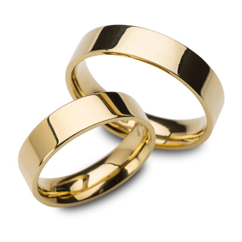 8287602f59149f Obrączki ślubne ze złota 585, na szczęśliwe chwile razem
