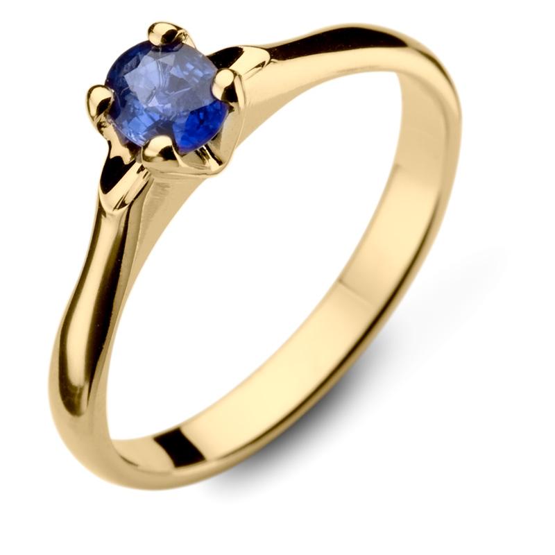 Złote Pierścionki Z Szafirami Wyjątkowa Biżuteria Najwyższej Jakości