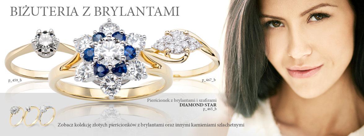 pierścionki z brylantami, diamentami, na najpiekniejsze chwile