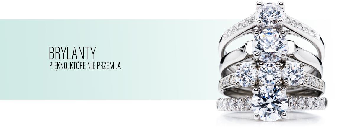 Brylanty - pierścionki z brylantami na www.twojabizuteria.pl