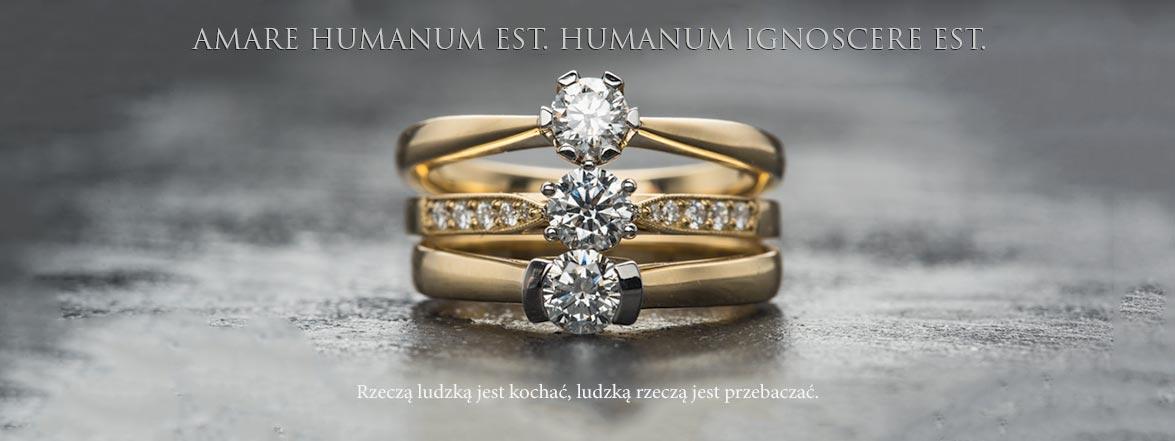 Brylanty - diamenty - pierścionki na zakochanie.